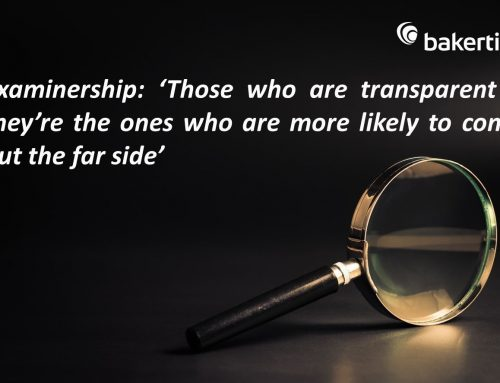 Examinership: 'Those who are transparent – they're the ones who are more likely to come out the far side'