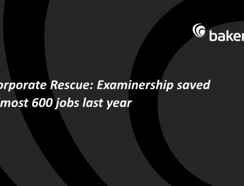 Examinership Saved Almost 600 Jobs Last Year