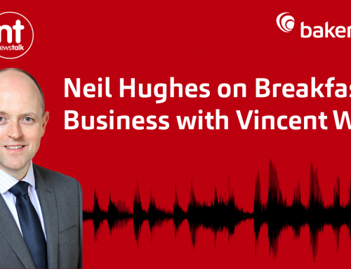 Neil Hughes on News Talk – Breakfast Business with Vincent Wall