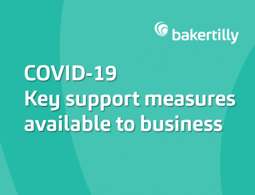COVID-19 Key support measures available to business