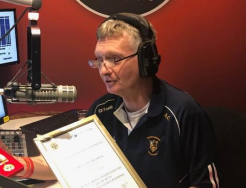 South East Radio's Alan Corcoran Honoured With A National Services Day Medal
