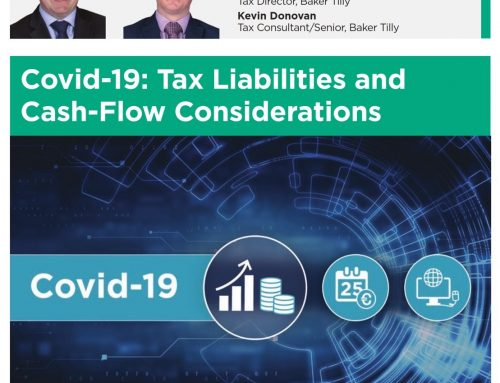Covid-19: Tax Liabilities and Cash-Flow Considerations