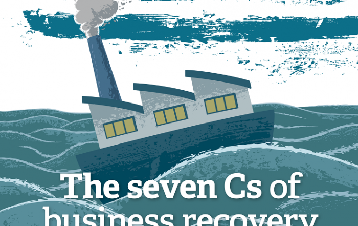 the seven cs of business recovery